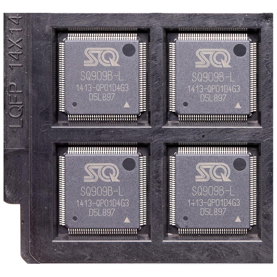 倚强SQ909B-L数字监控摄像机DSP,SERVICE&QUALITY单片机,数字视频摄像机(DVC)的经济后端,支持3MP的CMOS传感器,支持OLED CSTN TFT面板接口的处理器