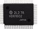 HD61602R日立HITACHI Segment Type LCD Driver液晶显示器驱动器,LCD段式字符驱动器MCU